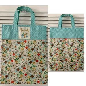 HARRODS Medium Spring Shopper Bag Limited Ed